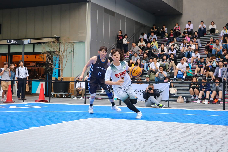 3x3女子バスケットトーナメント トリプルダブル ROUND12