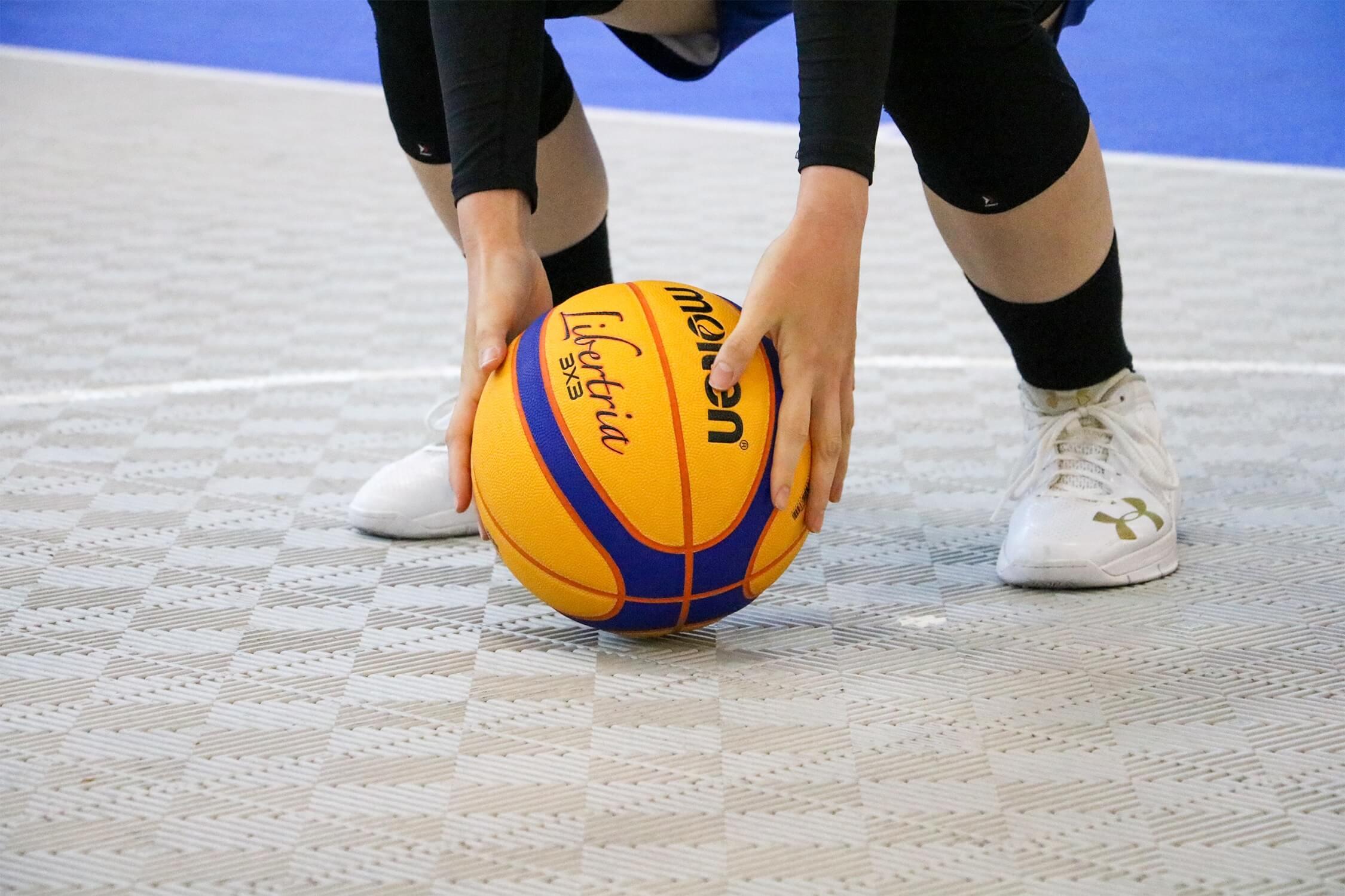 3x3女子バスケットトーナメント トリプルダブル FINAL