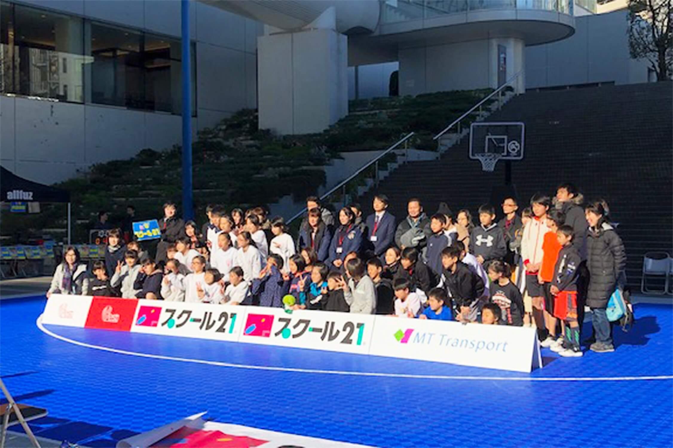 キャリアチャレンジ キッズスポーツ 3X3 バスケットボール決勝大会