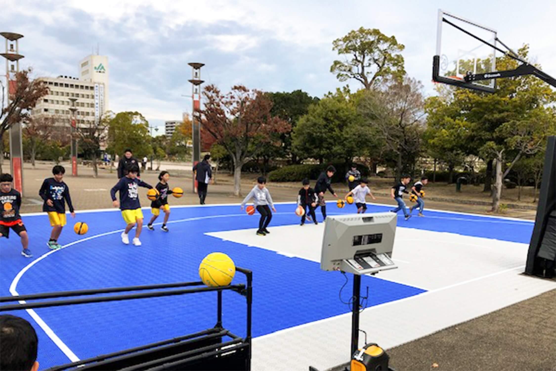 広島ドラゴンフライズ3X3 バスケスクール&ミニカップ