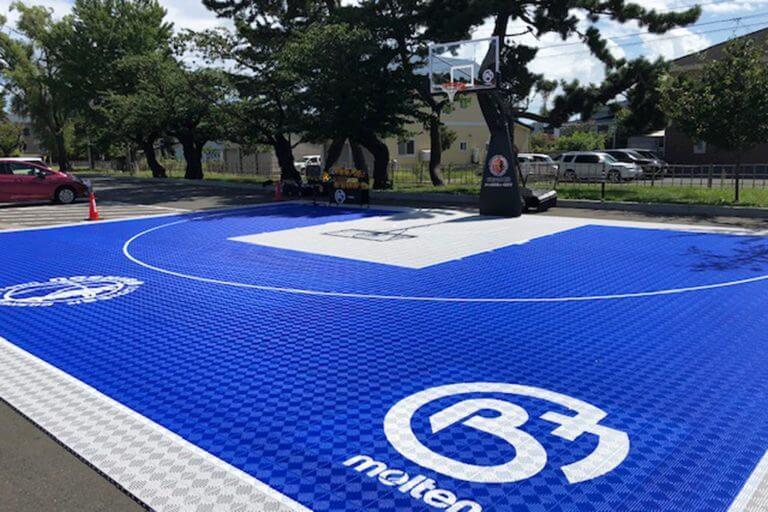バスケの街でバスケの風景が溢れます