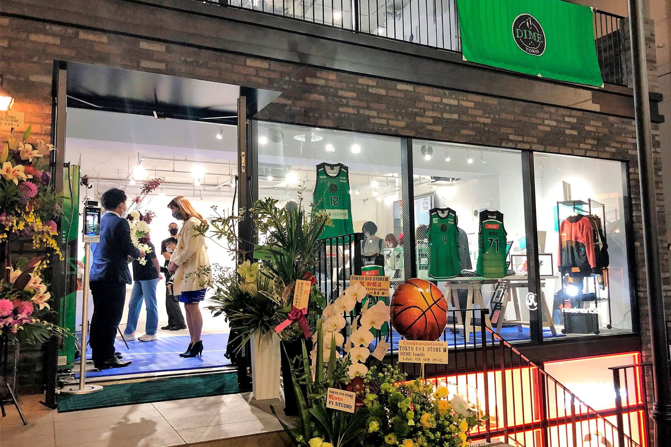 TOKYO 3×3 STORE produced by TOKYO DIME