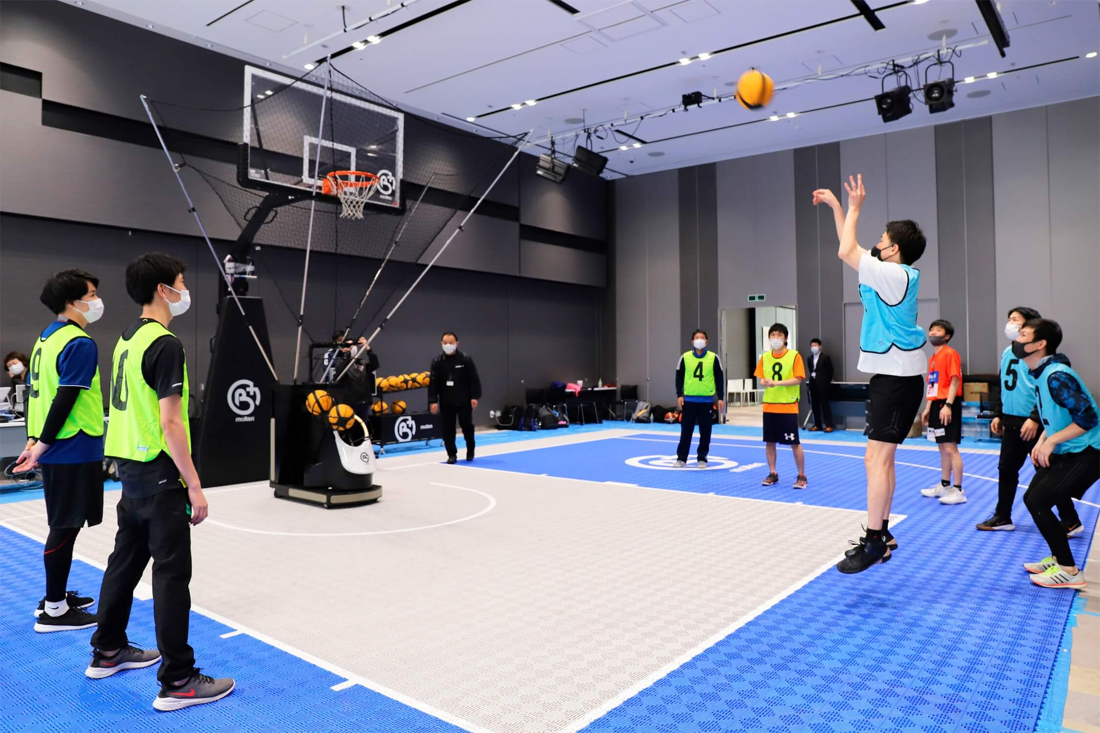 5Gでつながる、バスケットボールの未来のカタチ